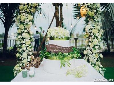 -24h chuyên dịch vụ cưới hỏi: trang trí nhà đám cưới hỏi, nhà hàng tiệc cưới, nhân sự bưng mâm quả, cổng hoa, xe hoa, cắt dán chữ và tin tức cưới hỏi: đám cưới sao, lập kế hoạch cưới, làm đẹp ngày cưới- Đám cưới xanh mát bên sông của cô dâu Sài Gòn