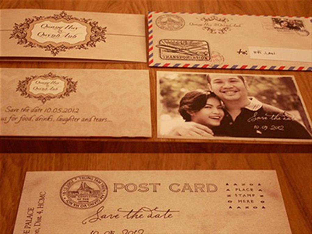 -24h chuyên dịch vụ cưới hỏi: trang trí nhà đám cưới hỏi, nhà hàng tiệc cưới, nhân sự bưng mâm quả, cổng hoa, xe hoa, cắt dán chữ và tin tức cưới hỏi: đám cưới sao, lập kế hoạch cưới, làm đẹp ngày cưới- Thiệp cưới postcard của Quỳnh Anh