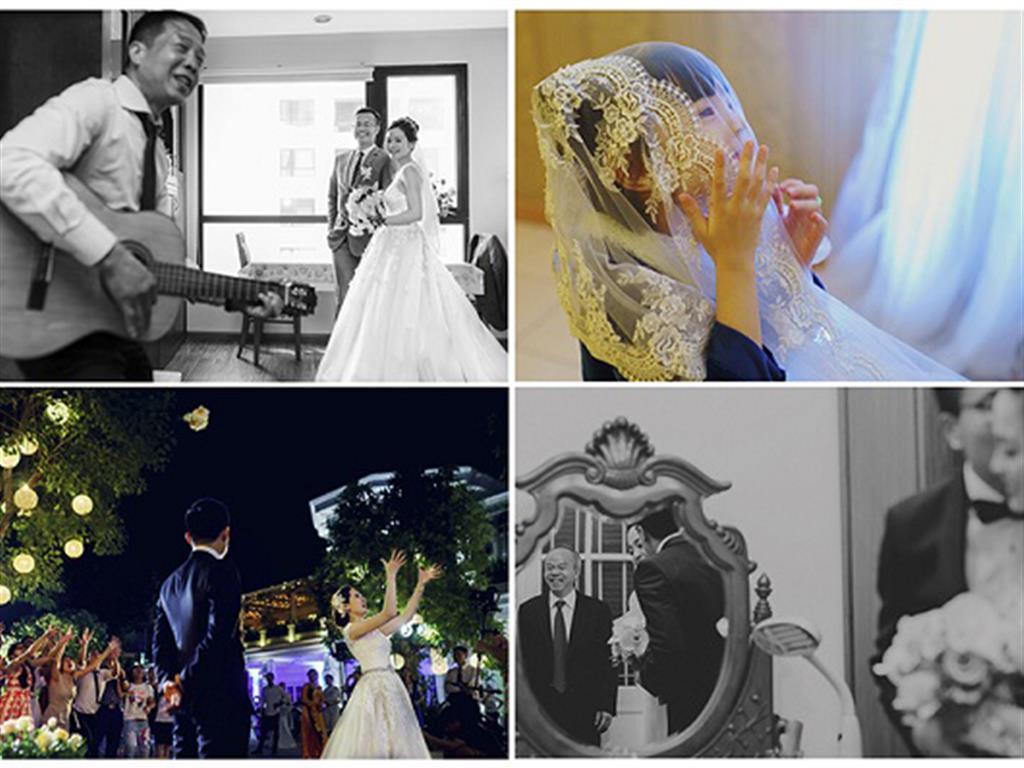 -24h chuyên dịch vụ cưới hỏi: trang trí nhà đám cưới hỏi, nhà hàng tiệc cưới, nhân sự bưng mâm quả, cổng hoa, xe hoa, cắt dán chữ và tin tức cưới hỏi: đám cưới sao, lập kế hoạch cưới, làm đẹp ngày cưới- Những điểm mới trong xu hướng chụp hình phóng sự cưới 2018