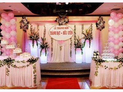 -24h chuyên dịch vụ cưới hỏi: trang trí nhà đám cưới hỏi, nhà hàng tiệc cưới, nhân sự bưng mâm quả, cổng hoa, xe hoa, cắt dán chữ và tin tức cưới hỏi: đám cưới sao, lập kế hoạch cưới, làm đẹp ngày cưới- Tận dụng các dịch vụ đám cưới trọn gói