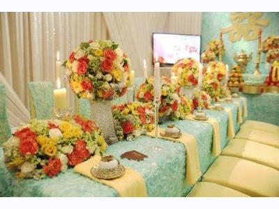 -24h chuyên dịch vụ cưới hỏi: trang trí nhà đám cưới hỏi, nhà hàng tiệc cưới, nhân sự bưng mâm quả, cổng hoa, xe hoa, cắt dán chữ và tin tức cưới hỏi: đám cưới sao, lập kế hoạch cưới, làm đẹp ngày cưới- Lễ gia tiên với gam màu bạc hà hiện đại