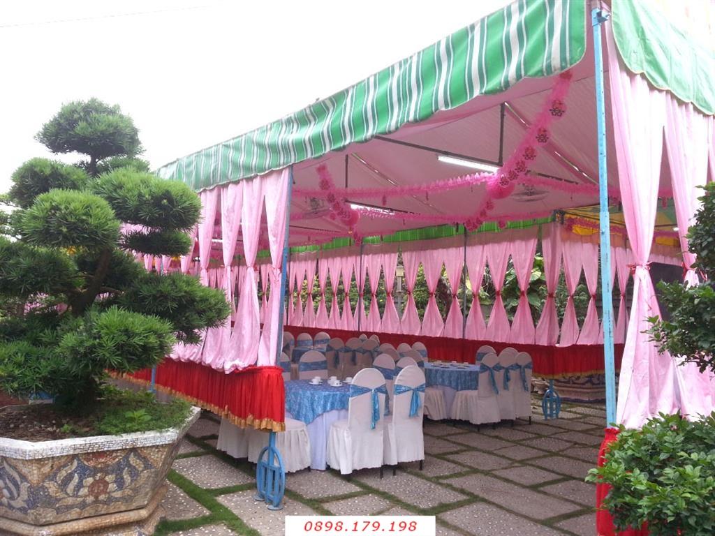 Dịch vụ cưới hỏi 24h trọn vẹn ngày vui chuyên trang trí nhà đám cưới hỏi và nhà hàng tiệc cưới | Khung rạp tiệc cưới tông hồng màu sắc tự do