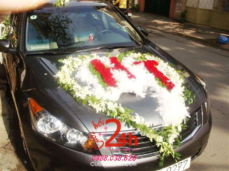 Dịch vụ cưới hỏi 24h trọn vẹn ngày vui chuyên trang trí nhà đám cưới hỏi và nhà hàng tiệc cưới | Cho cưới màu đen kết trái tim hoa tươi HT