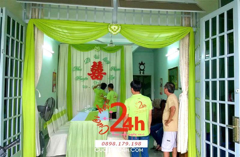 Dịch vụ cưới hỏi 24h trọn vẹn ngày vui chuyên trang trí nhà đám cưới hỏi và nhà hàng tiệc cưới | Trang trí nhà cưới hỏi tông màu xanh đọt chuối