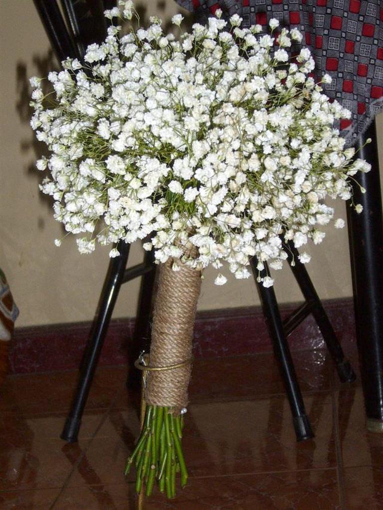 Dịch vụ cưới hỏi 24h trọn vẹn ngày vui chuyên trang trí nhà đám cưới hỏi và nhà hàng tiệc cưới | Hoa baby bó tròn