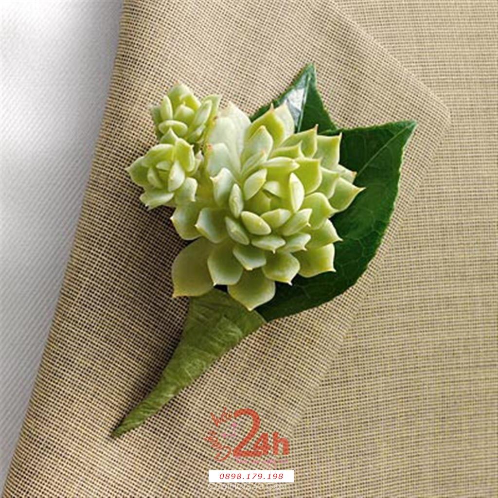 Dịch vụ cưới hỏi 24h trọn vẹn ngày vui chuyên trang trí nhà đám cưới hỏi và nhà hàng tiệc cưới | Hoa cài áo sang trọng