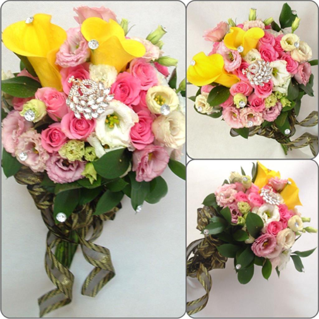 Dịch vụ cưới hỏi 24h trọn vẹn ngày vui chuyên trang trí nhà đám cưới hỏi và nhà hàng tiệc cưới | Hoa hồng nhiều màu sắc