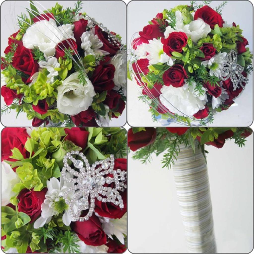 Dịch vụ cưới hỏi 24h trọn vẹn ngày vui chuyên trang trí nhà đám cưới hỏi và nhà hàng tiệc cưới | Hoa hồng với hoa cúc tổng hợp