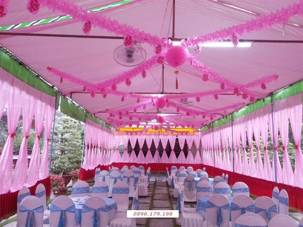 Dịch vụ cưới hỏi 24h trọn vẹn ngày vui chuyên trang trí nhà đám cưới hỏi và nhà hàng tiệc cưới | Nhà khách rạp cưới tông hồng cho tổ chức sự kiện, tiệc cưới