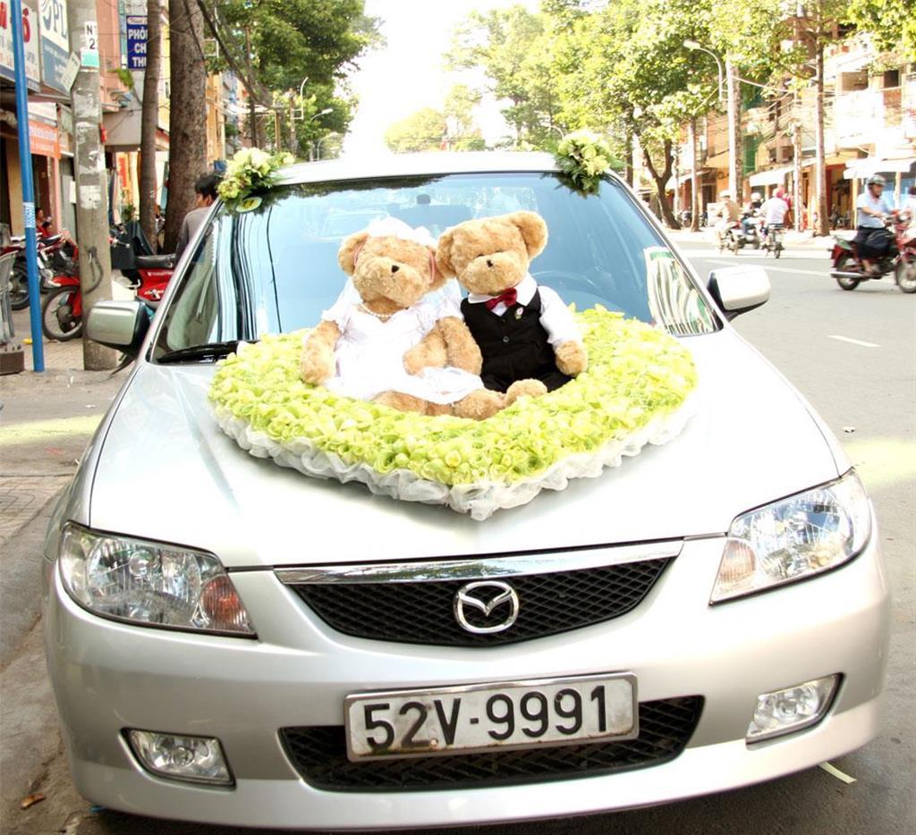 Dịch vụ cưới hỏi 24h trọn vẹn ngày vui chuyên trang trí nhà đám cưới hỏi và nhà hàng tiệc cưới | Xe (4-50 chỗ) 17