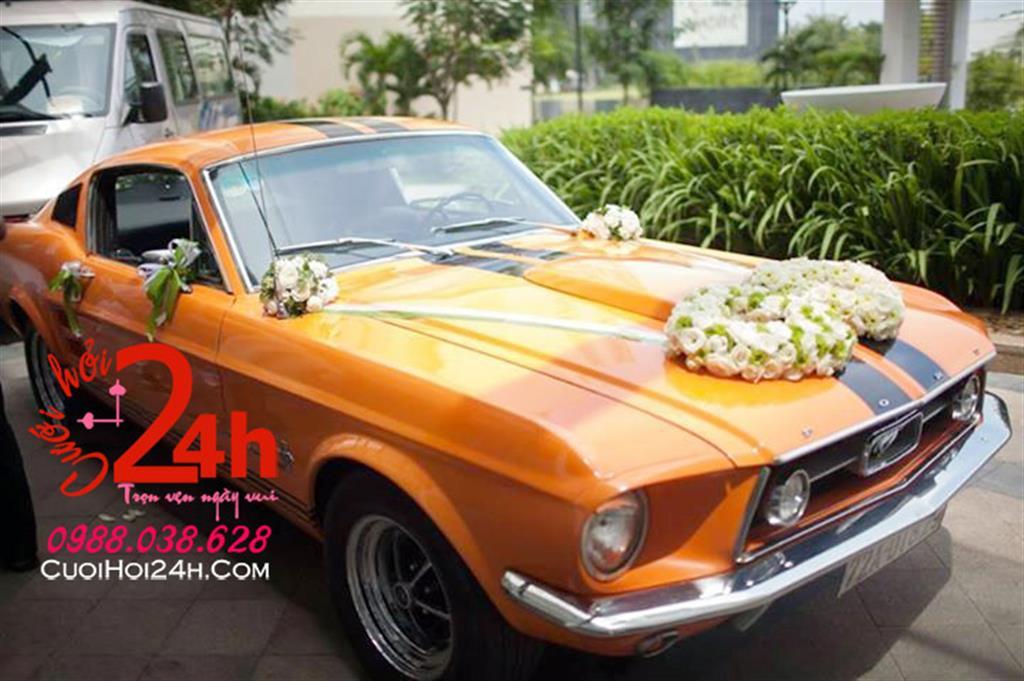 Dịch vụ cưới hỏi 24h trọn vẹn ngày vui chuyên trang trí nhà đám cưới hỏi và nhà hàng tiệc cưới | Dịch vụ cho thuê xe cưới tông màu cam rực rỡ