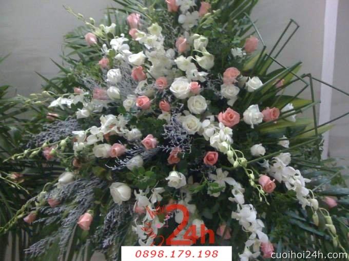 Dịch vụ cưới hỏi 24h trọn vẹn ngày vui chuyên trang trí nhà đám cưới hỏi và nhà hàng tiệc cưới | Hoa sự kiện khác 45