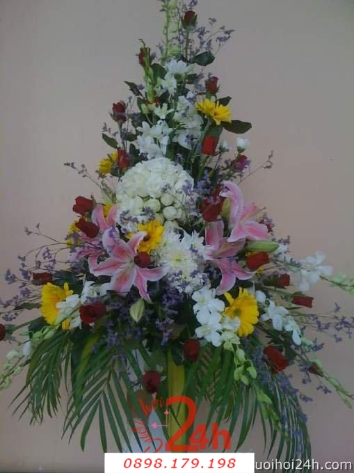 Dịch vụ cưới hỏi 24h trọn vẹn ngày vui chuyên trang trí nhà đám cưới hỏi và nhà hàng tiệc cưới | Hoa trang trí tiệc cưới 36