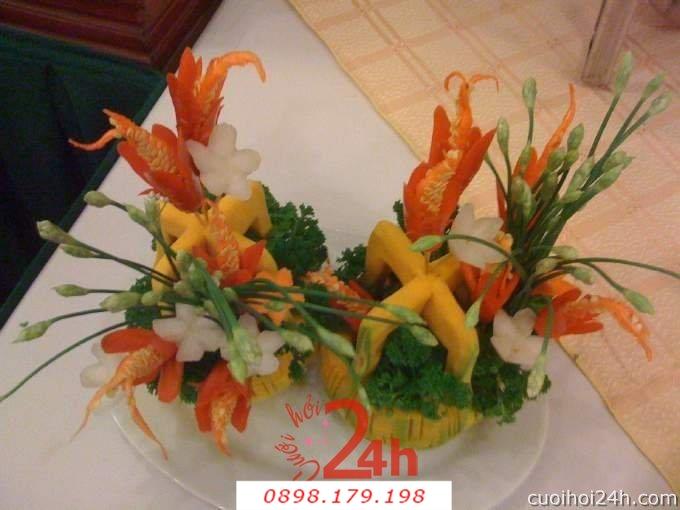 Dịch vụ cưới hỏi 24h trọn vẹn ngày vui chuyên trang trí nhà đám cưới hỏi và nhà hàng tiệc cưới | Trang trí nhà hàng 33