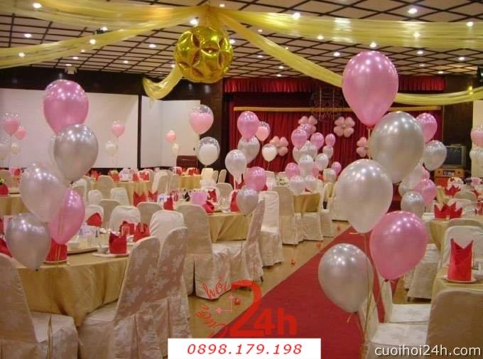 Dịch vụ cưới hỏi 24h trọn vẹn ngày vui chuyên trang trí nhà đám cưới hỏi và nhà hàng tiệc cưới | Trang trí nhà hàng 34