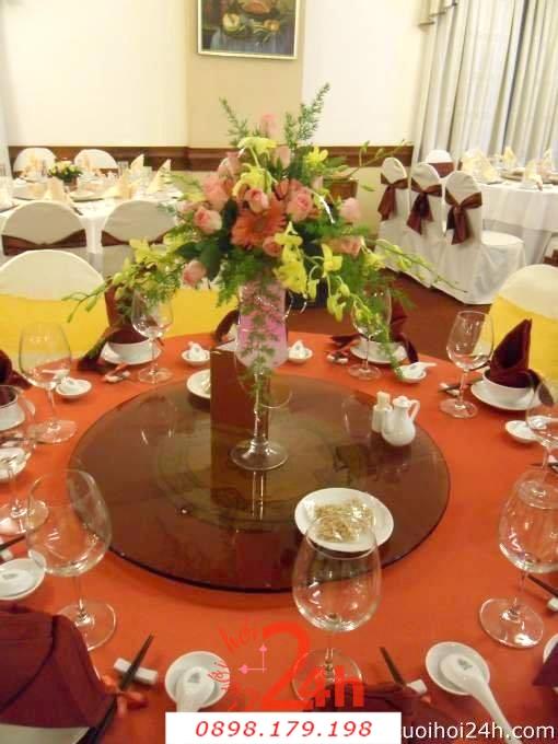 Dịch vụ cưới hỏi 24h trọn vẹn ngày vui chuyên trang trí nhà đám cưới hỏi và nhà hàng tiệc cưới | Trang trí nhà hàng 42