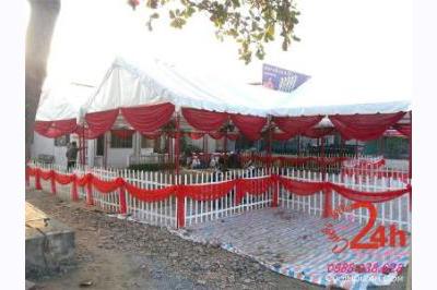 Dịch vụ cưới hỏi 24h trọn vẹn ngày vui chuyên trang trí nhà đám cưới hỏi và nhà hàng tiệc cưới | Cho thuê nhà tiệc khung rạp tông đỏ cho tổ chức đám cưới, sự kiện