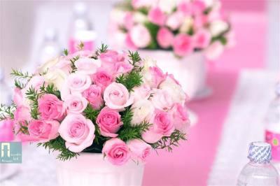 -24h chuyên dịch vụ cưới hỏi: trang trí nhà đám cưới hỏi, nhà hàng tiệc cưới, nhân sự bưng mâm quả, cổng hoa, xe hoa, cắt dán chữ và tin tức cưới hỏi: đám cưới sao, lập kế hoạch cưới, làm đẹp ngày cưới -Lọ hoa để bàn hai họ tông hồng pastel dễ thươ