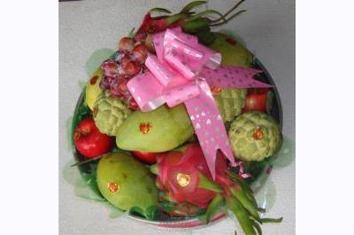 Dịch vụ cưới hỏi 24h trọn vẹn ngày vui chuyên trang trí nhà đám cưới hỏi và nhà hàng tiệc cưới | Mâm quả trái cây cưới hỏi