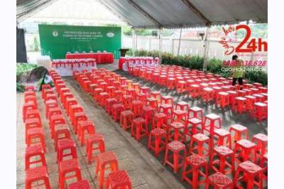 Dịch vụ cưới hỏi 24h trọn vẹn ngày vui chuyên trang trí nhà đám cưới hỏi và nhà hàng tiệc cưới | Dịch vụ cho thuê ghế nhựa đỏ cho sự kiện (1)