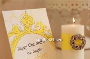 Dịch vụ cưới hỏi 24h trọn vẹn ngày vui chuyên trang trí nhà đám cưới hỏi và nhà hàng tiệc cưới | Phụ kiện thiệp 2