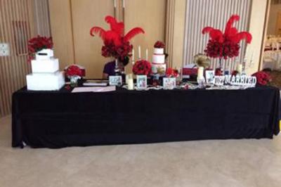 Dịch vụ cưới hỏi 24h trọn vẹn ngày vui chuyên trang trí nhà đám cưới hỏi và nhà hàng tiệc cưới | Dịch vụ trang trí bàn ký tên gallery đón khách