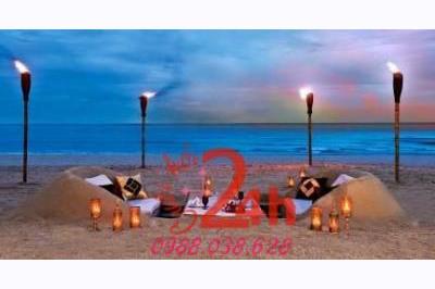 Dịch vụ cưới hỏi 24h trọn vẹn ngày vui chuyên trang trí nhà đám cưới hỏi và nhà hàng tiệc cưới | The Sailing Bay Beac