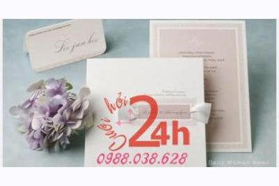 Dịch vụ cưới hỏi 24h trọn vẹn ngày vui chuyên trang trí nhà đám cưới hỏi và nhà hàng tiệc cưới | Thiệp cưới Mai Nguyễ