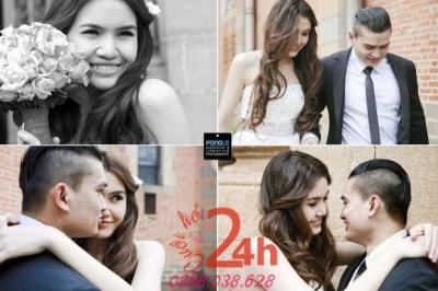 Dịch vụ cưới hỏi 24h trọn vẹn ngày vui chuyên trang trí nhà đám cưới hỏi và nhà hàng tiệc cưới | FONGLE photography