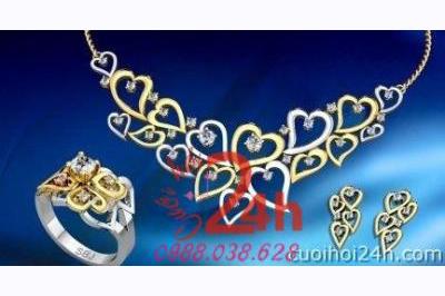 Dịch vụ cưới hỏi 24h trọn vẹn ngày vui chuyên trang trí nhà đám cưới hỏi và nhà hàng tiệc cưới | SBJ Jewelry