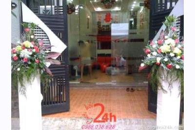 Dịch vụ cưới hỏi 24h trọn vẹn ngày vui chuyên trang trí nhà đám cưới hỏi và nhà hàng tiệc cưới | Cổng hoa tươi 53