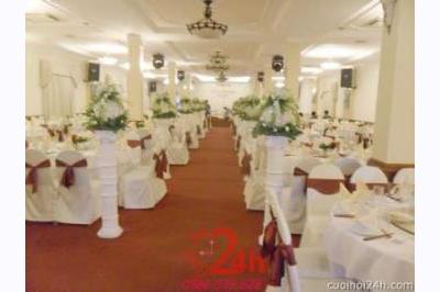 Dịch vụ cưới hỏi 24h trọn vẹn ngày vui chuyên trang trí nhà đám cưới hỏi và nhà hàng tiệc cưới | Trang trí nhà hàng 4