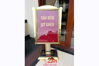 Dịch vụ cưới hỏi 24h trọn vẹn ngày vui chuyên trang trí nhà đám cưới hỏi và nhà hàng tiệc cưới | Phụ kiện Bảng Chào